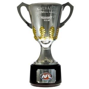 Small AFL Premiership Cup Cardboard Cutout Various