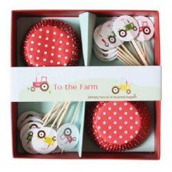 To The Farm Cupcake Kit Robert Gordon