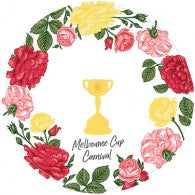melbourne cup dinner plates