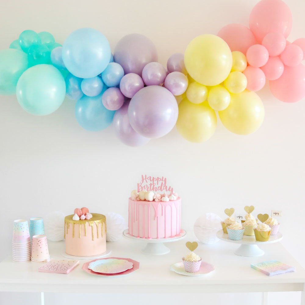 Pastel D.I.Y.Balloon Garland Kit