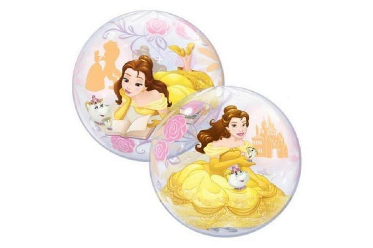 Beauty & The Beast Belle Plastic Bubble Balloon