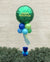 Happy Isolation Green Balloon Topiary Tree
