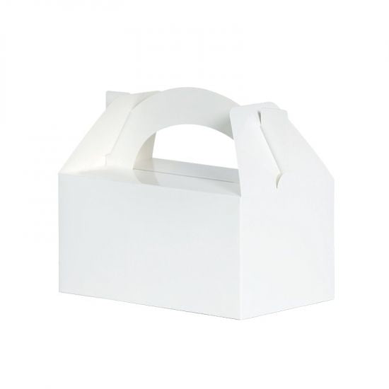 Classic White Paper Lunch Boxes