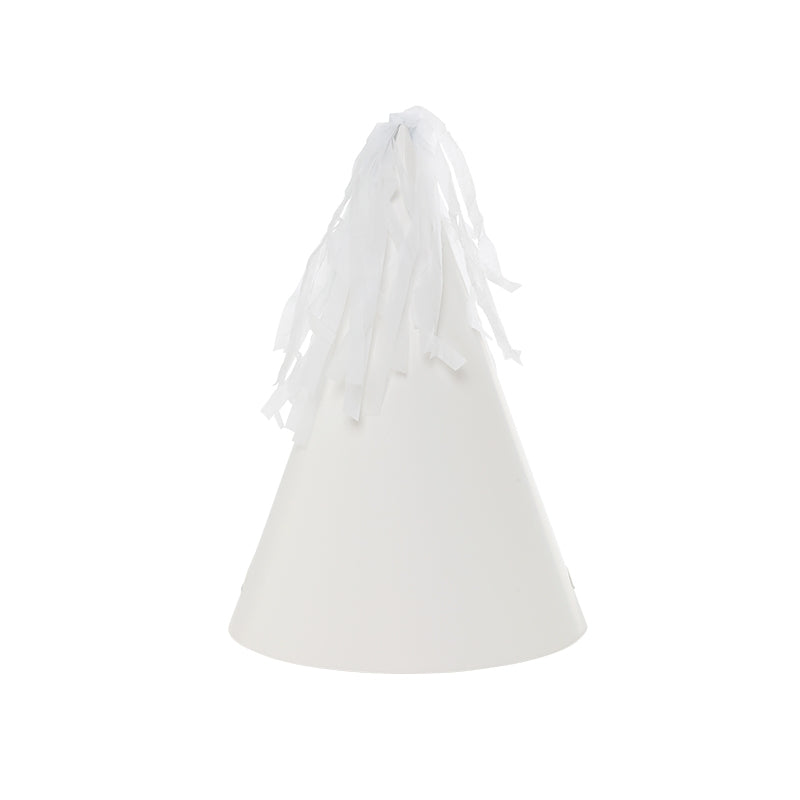 White Tassel Topper Party Hats
