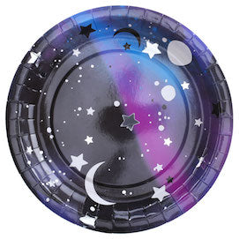 Galaxy Paper Plates