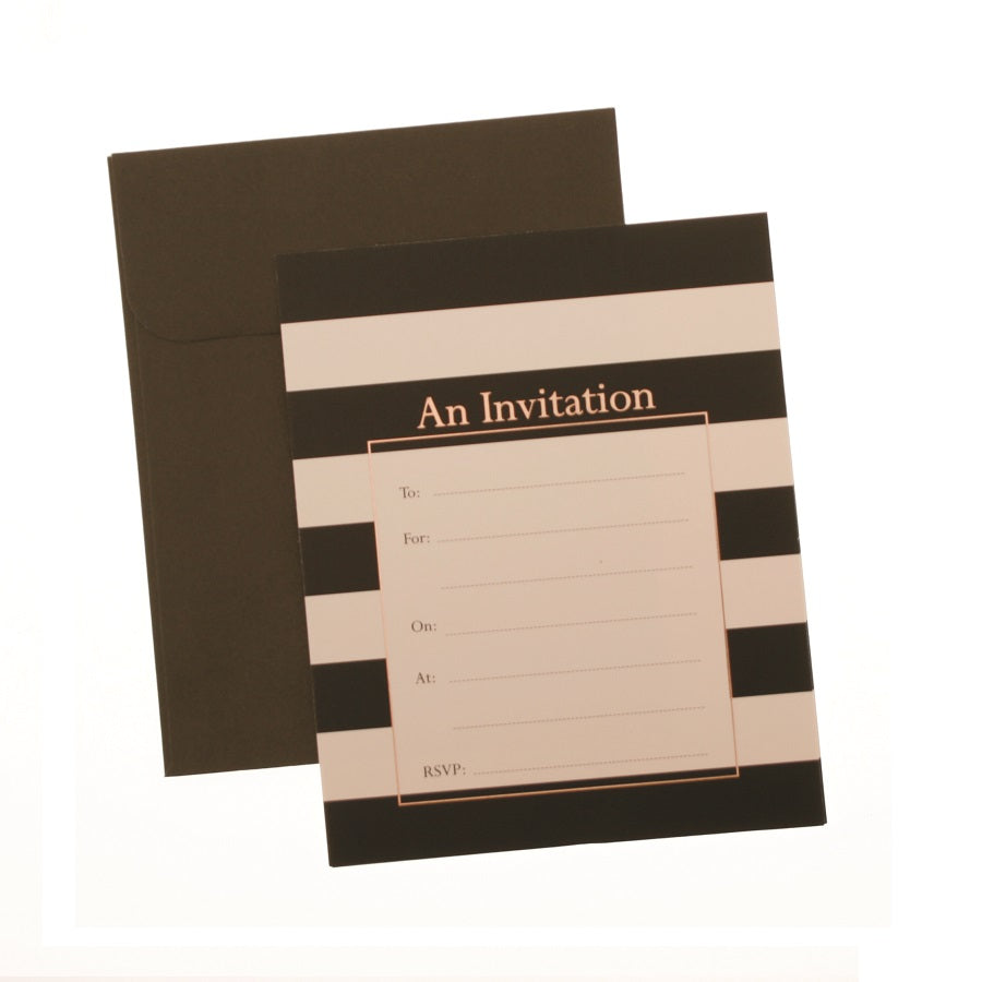 high society invitations and envelopes