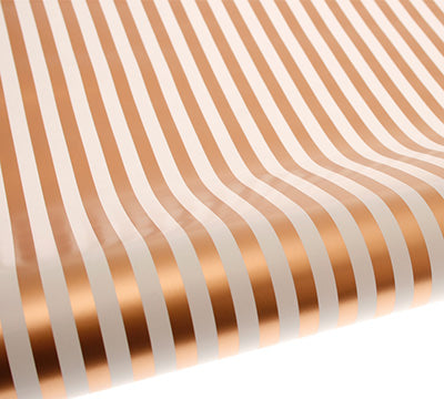 Gold Stripe Gift Wrap