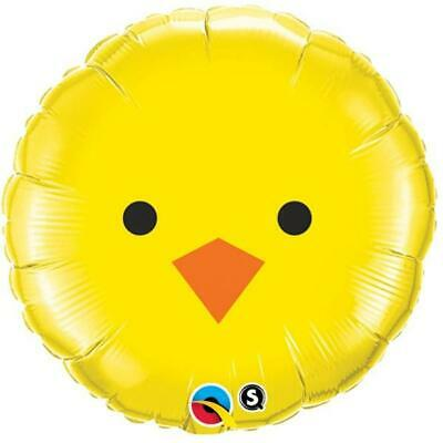 Baby Chick Face Foil Balloon