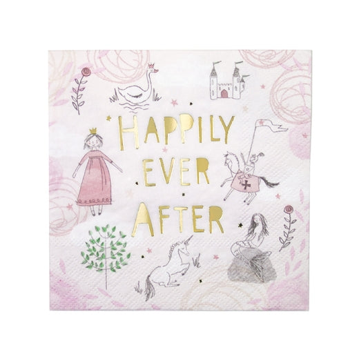Happily Ever After Cocktail Napkins