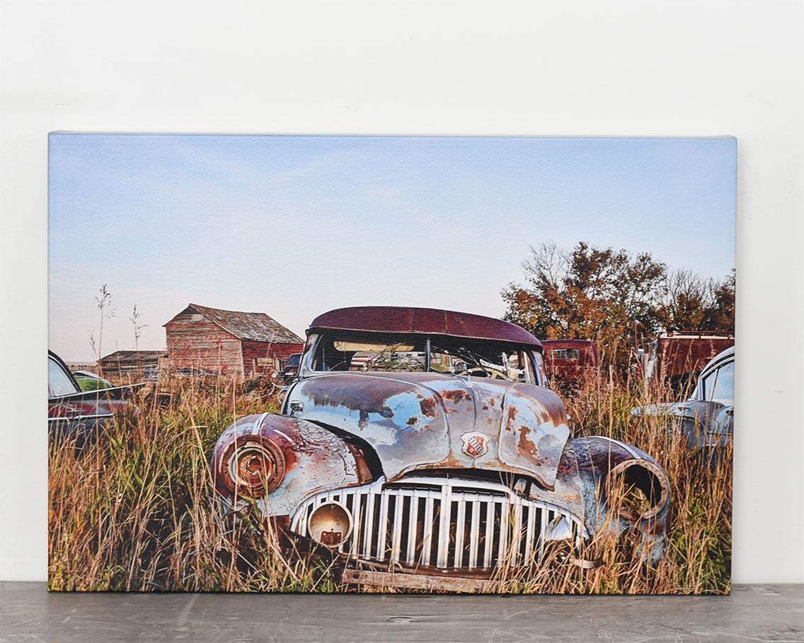 Buick Vintage Car 16x24 Canvas