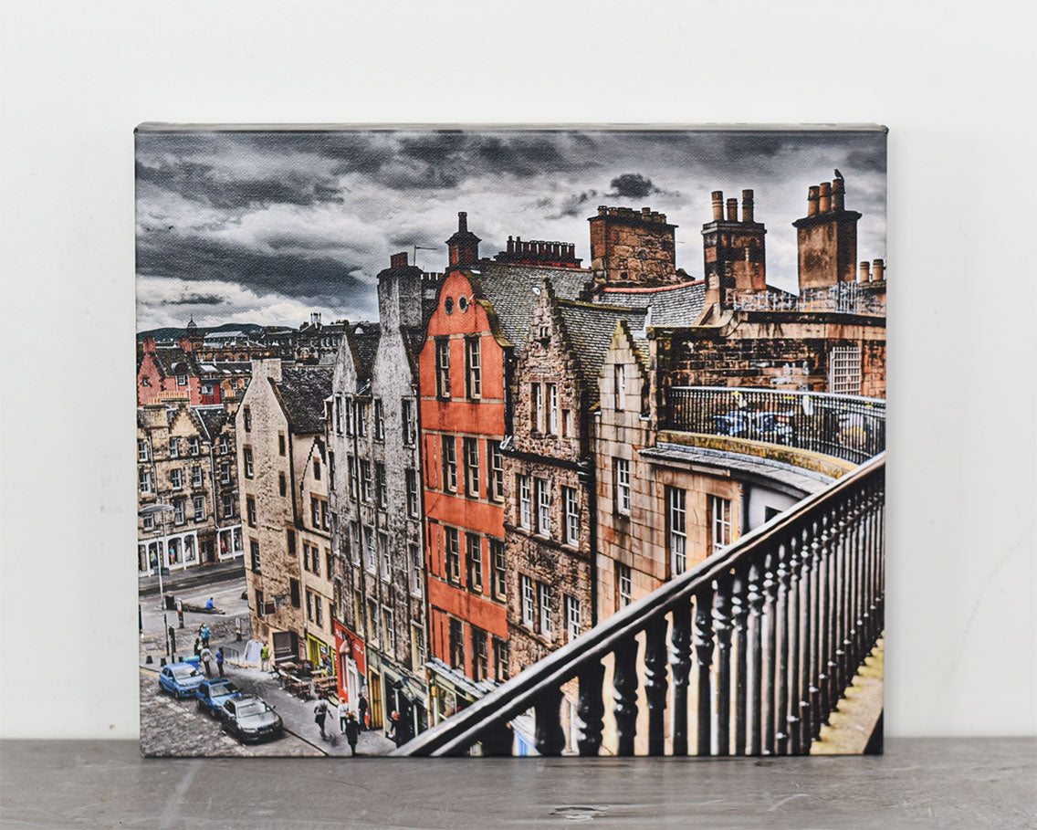 Edinburgh 11x14 Canvas