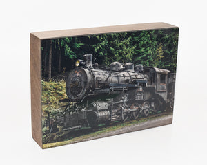 Sandon Train, 5x7 Photo Block