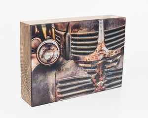 Vintage Dodge Truck, 5x7 Photo Block