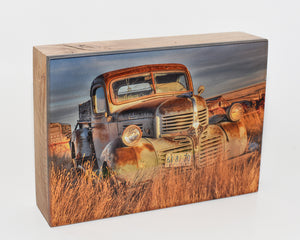 Doug The Dodge Truck, 5x7 Photo Block