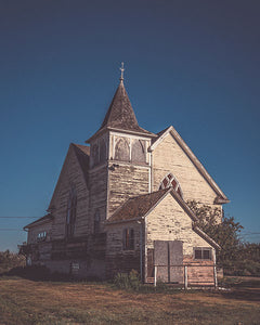 An Old Abandon Church