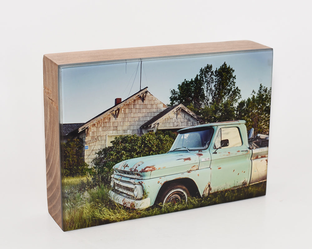1960's Chevy Truck 5x7 Photo Block