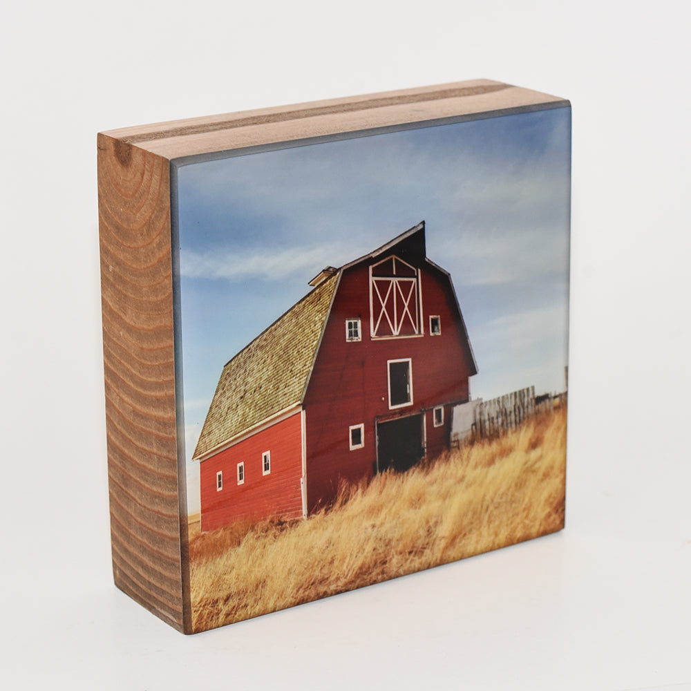 Barn Sweet Barn, 5x5 Photo Block