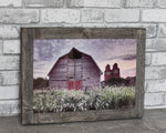 Livery Barn In Rowely Alberta Barn Wood Frame