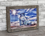 Arrowwood Grain Elevator Barn Wood Frame