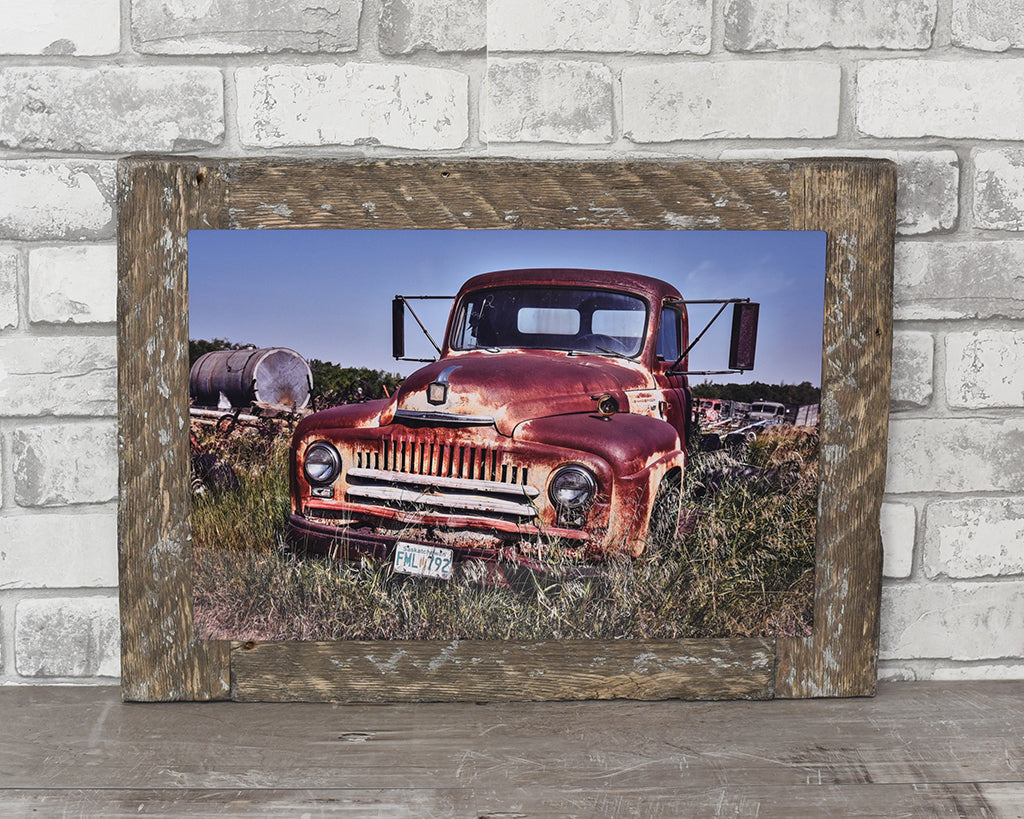 Saskatchewan International, 12x18 Barn Wood Frame