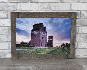 Rowley Elevators, 12x18 Barn Wood Frame