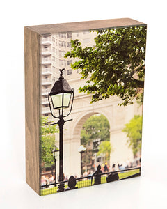 Washington Park in NYC 5x7 Photo Block