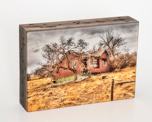 The Cluny House 5x7 Photo Block
