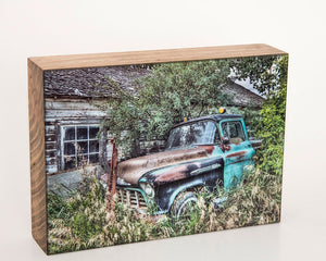 1950's Chevy Truck 5x7 Photo Block