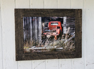 """Ross"" 20x30 Barn Wood Frame"