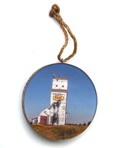 Sask Pool Elevator Christmas Ornament