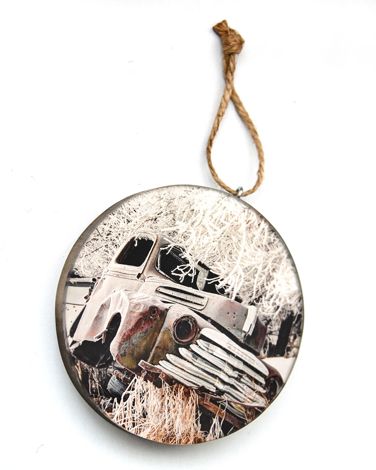 Mercury Truck Christmas Ornament