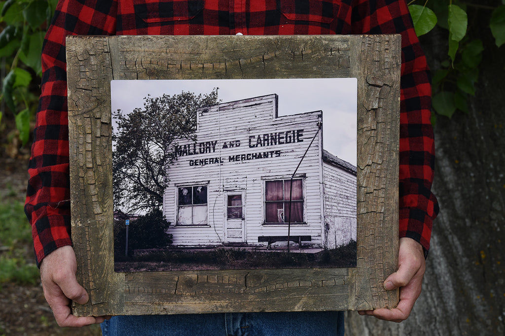 Mallory and Carnegie, 11x14 Barn Wood Frame