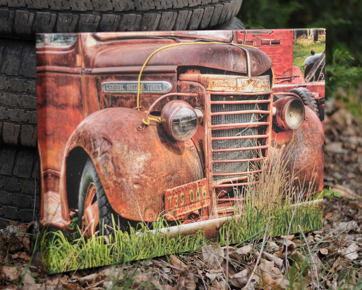 1950 GMC Truck, 16x24 Canvas