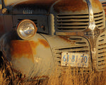 Closeup Dodge Grill Print