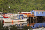 Fisherman Village In Newfoundland