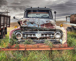 Rusted Mercury Truck