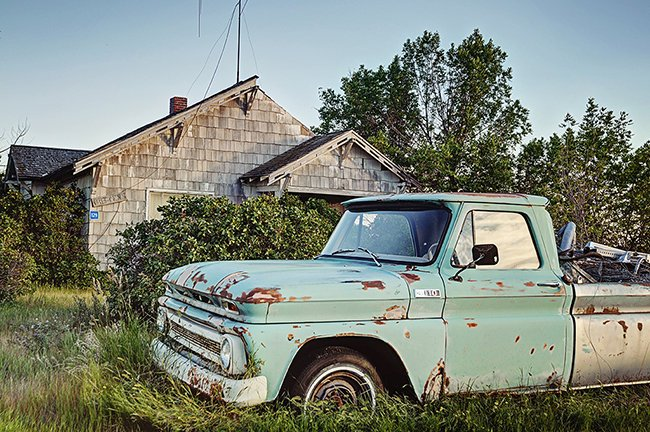 1960's Vintage Chevy Truck