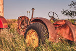 Red Massey Harris Tractor