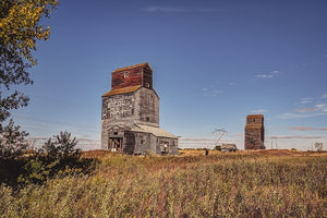 Neelby Elevator In Rural Saskatchewan