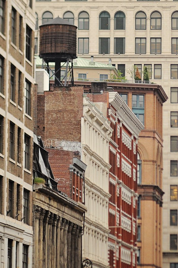 Water Tower In SOHO In New York City