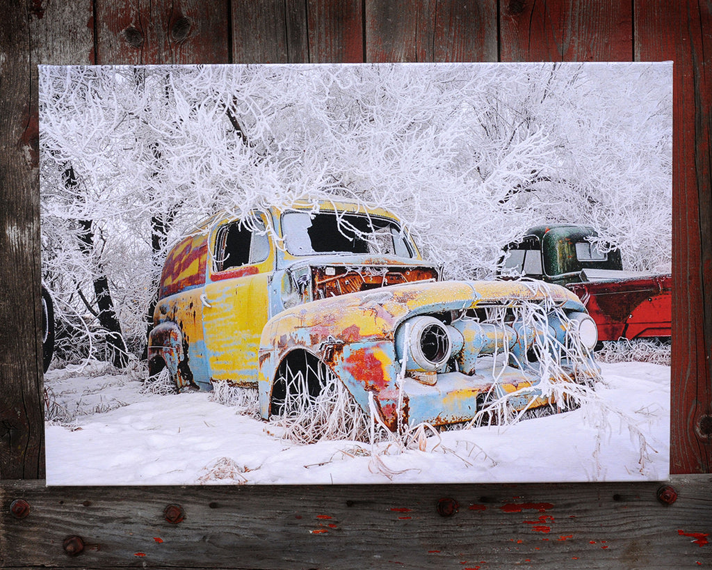 1950's Mercury Panel Van, Canvas 16x24