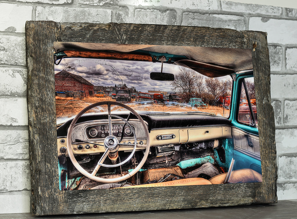 Let The Good Times Roll Barn Wood Frame
