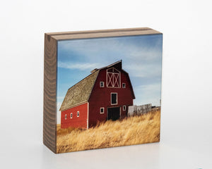 The Red Barn 5x5 Photo Block