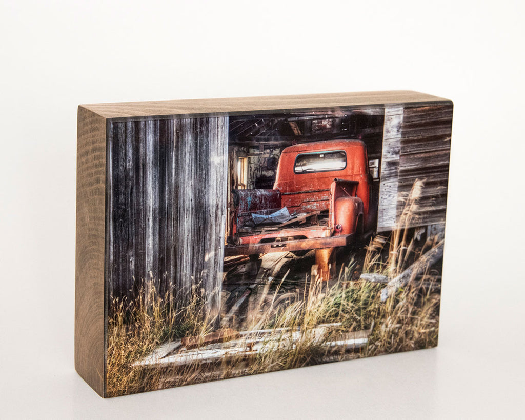 Fargo Truck 5x7 Photo Block