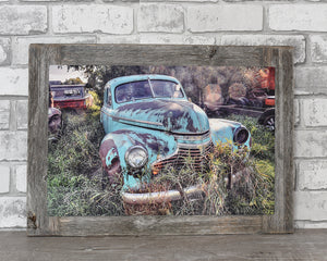 Custom Barn Wood Frame