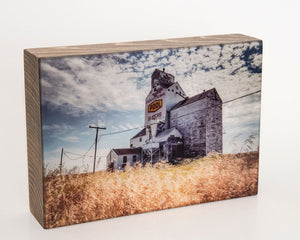 Superb Sask Pool 5x7 Photo Block