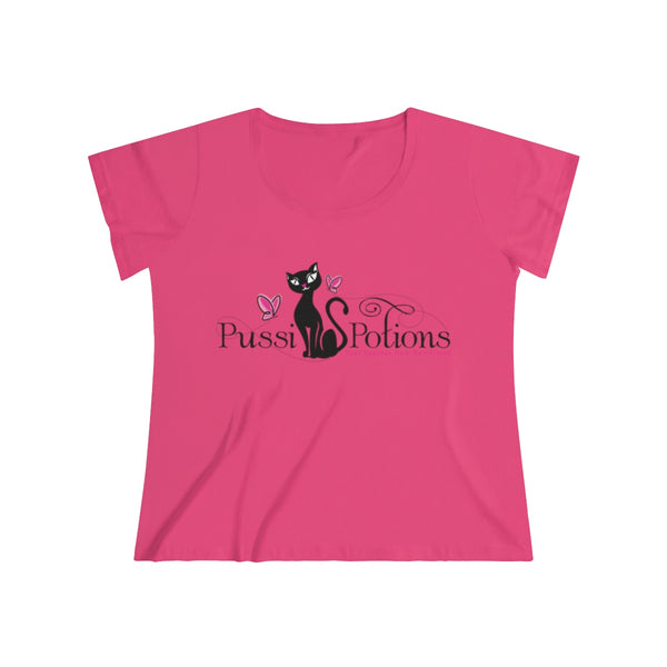 Pussi Potions Tee for my Curvy Girls!