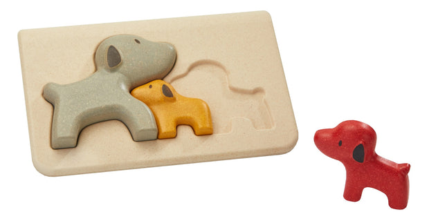 puzzle catelusi PlanToys