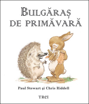 Bulgaras de primavara Paul Stewart Chris Riddell- carte ilustrata copii