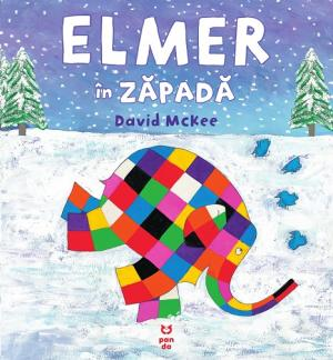 Elmer in zapada - David McKee - carte ilustrata copii
